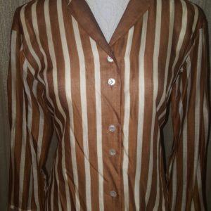 Amie New York Stripped Vintage Blouse sz.10 $20