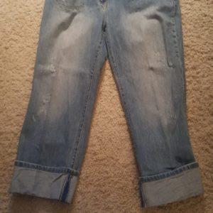 I.N.C. Below the Knee Cuffed Jeans sz. 12 $20