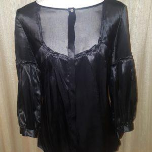 M.S.S.P. Silk SheerTop Blouse Med. $30