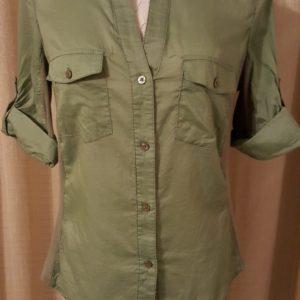 Seven 7 Casual Button Sleeves Shirt Medium $15