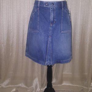GAP JEANS, Front Pleat, Denim, Skirt, Size 8, $25