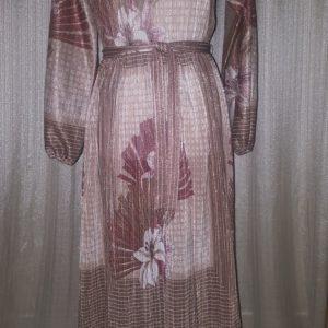 Hal Ferman, Vintage, Floral, Shimmery, Dress, Size 8, $35