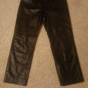 Siena Studio, Leather, Pants, Size 12, $25