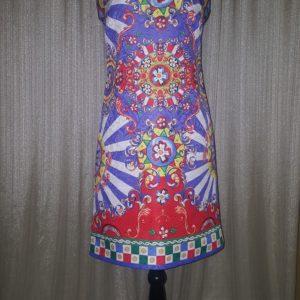 Tagless, Colorful Print, Dress, Size 4, $25