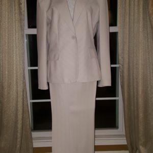Anne Klein Boyfriend Blazer Pin Stripe Pant Suit Sz. 10 $75