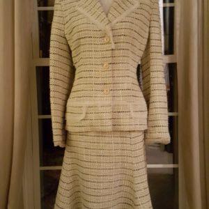 Anne Klein Flare Skirt Suit Sz. 12P $75