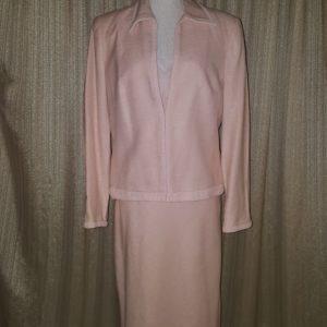 Fenn Wright Manson Linen, Silk and Cotton Pencil Dress Suit Sz 12 $90