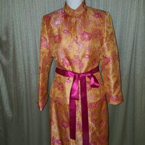 Kasper Shimmer Floral Skirt Suit Sz. 8 $55
