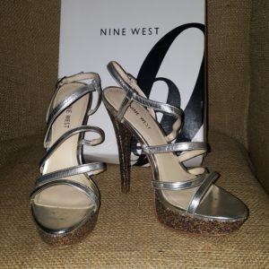 Nine West Strappy Platform Sandal Sz. 8 $35